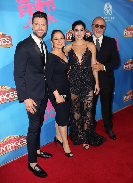 Celebration Of The Los Angeles Engagement Of 'On Your Feet!' The Emilio And Gloria Estefan Broadway Musical - Arrivals