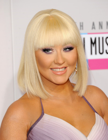 Christina Aguilera - The 40th American Music Awards - Arrivals