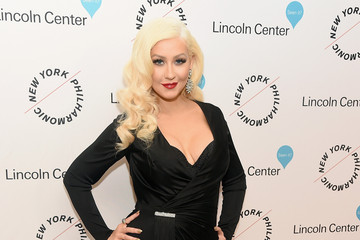 Christina Aguilera Sinatra Voice for A Century Event - Arrivals