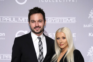 Christina Aguilera Matthew Rutler Fifth Annual Baby2Baby Gala, Presented by John Paul Mitchell Systems - Cocktail