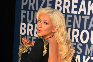 Christina Aguilera 2016 Breakthrough Prize Ceremony - Arrivals