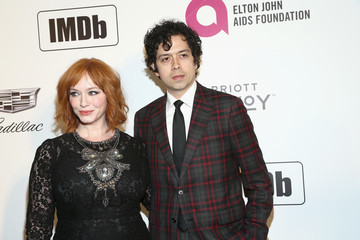 Christina Hendricks IMDb LIVE At The Elton John AIDS Foundation Academy Awards Viewing Party