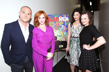 Christina Hendricks Elisabeth Moss 'Mad Men' Screening in LA