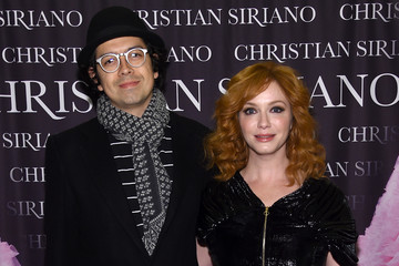 """Christina Hendricks Geoffrey Arend Christian Siriano Celebrates The Release Of His Book """"Dresses To Dream About"""" At The Rizzoli Flagship Store In New York"""