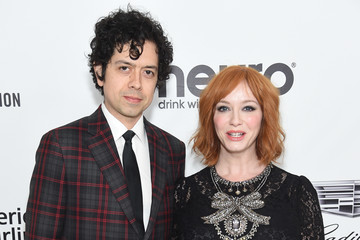 Christina Hendricks Geoffrey Arend 27th Annual Elton John AIDS Foundation Academy Awards Viewing Party Sponsored By IMDb And Neuro Drinks Celebrating EJAF And The 91st Academy Awards - Red Carpet