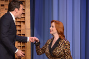 Christina Hendricks Visits 'Jimmy Fallon'