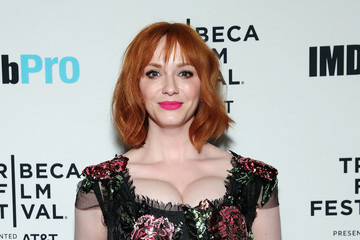 Christina Hendricks 2018 Tribeca Film Festival After-Party For Egg, Hosted By The IMDbPro App At TAO Downtown
