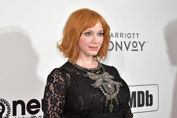 Christina Hendricks 27th Annual Elton John AIDS Foundation Academy Awards Viewing Party Celebrating EJAF And The 91st Academy Awards - Arrivals