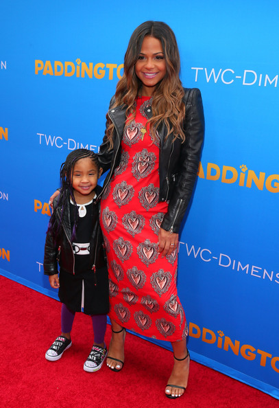 """Premiere Of TWC-Dimension's """"Paddington"""" - Red Carpet [paddington,carpet,clothing,red carpet,premiere,flooring,event,long hair,red carpet,christina milian,california,hollywood,tcl chinese theatre imax,twc-dimension,premiere,premiere]"""