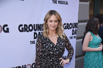 "Christine Taylor ""Groundhog Day"" Broadway Opening Night - Arrivals & Curtain Call"