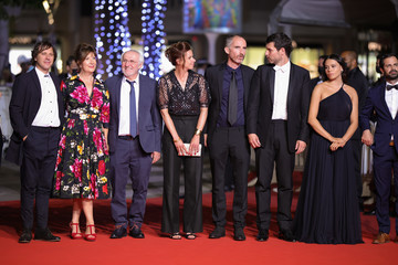 """Christophe Paou Judith Godinot """"Oranges Sanguines (Bloody Oranges)"""" Red Carpet - The 74th Annual Cannes Film Festival"""