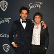 Christopher Abbott The 2020 InStyle And Warner Bros. 77th Annual Golden Globe Awards Post-Party - Red Carpet