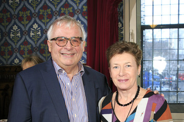 Christopher Biggins Liz Arum The Eve Appeal Makes Time for Tea