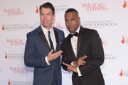 "Jerry OConnell and DJ Whoo Kid attend ""A Magical Evening"" Gala hosted by The Christopher & Dana Reeve Foundation a at Conrad Hotel on November 16, 2017 in New York City."