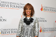 """Gayle King arrives at The Christopher & Dana Reeve Foundation """"Magical Evening"""" Gala on November 15, 2018 in New York City."""