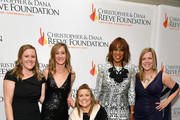 """Gayle King and guests arrive at The Christopher & Dana Reeve Foundation """"Magical Evening"""" Gala on November 15, 2018 in New York City."""