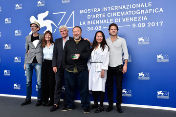 Christopher Doyle 'Human Flow' Photocall - 74th Venice Film Festival