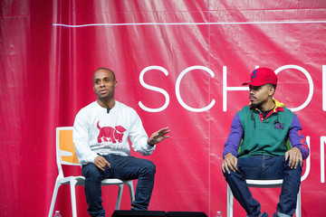 Christopher Gray Chance the Rapper Chance the Rapper, Jesse Williams, and Christopher Gray Host Scholly Scholarship Summit in Chicago