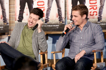 Christopher Mintz-Plasse Dave Franco Funny Or Die Clubhouse + Facebook Pop-Up HQ @ SXSW - Day 1