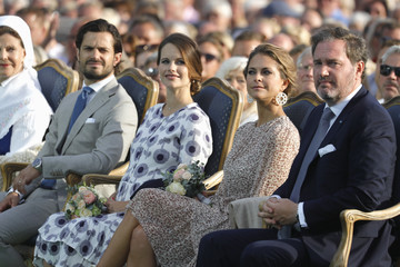 Christopher O'Neill The Crown Princess Victoria of Sweden's 40th Birthday Celebrations in Borgholm