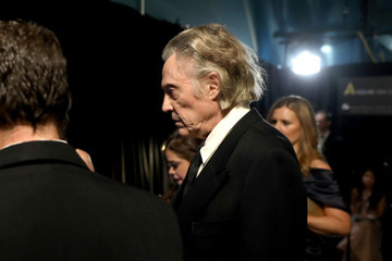Christopher Walken 90th Annual Academy Awards - Backstage