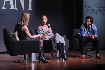 Christy Turlington Burns The Fast Company Innovation Festival - The Creativity of Giving: TOMS Founder Blake Mycoskie and Social Entrepreneur Christy Turlington