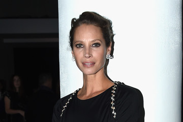 Christy Turlington The Museum of Modern Art Film Benefit Presented By CHANEL: A Tribute to Julianne Moore - Inside