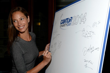 Christy Turlington Annual Charity Day Hosted By Cantor Fitzgerald And BGC - Cantor Fitzgerald Office - Arrivals