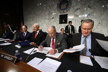 Chuck Grassley Senate Finance Committee Meets for Markup of Tax Bill