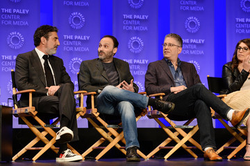 Chuck Lorre Mayim Bialik The Paley Center for Media's 33rd Annual PaleyFest Los Angeles - 'The Big Bang Theory' - Inside