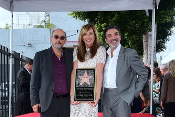 Chuck Lorre Allison Janney Is Honored With a Star on the Hollywood Walk of Fame