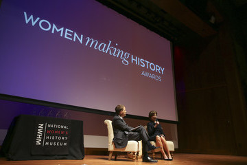 Chuck Todd National Women's History Museum's Annual Women Making History Awards Honors Former First Lady Laura Bush