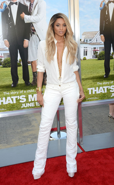 "Ciara - Premiere Of Columbia Pictures' ""That's My Boy"" - Arrivals"
