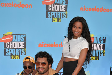 Ciara Russell Wilson Nickelodeon Kids' Choice Sports 2019 - Arrivals