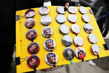 Cicely Tyson Public Viewing Service Held For Actress Cicely Tyson In Harlem