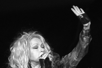 Cindi Lauper Cyndi Lauper In Concert - Nashville, Tennessee