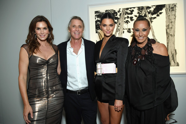 Cindy Crawford And Candice Swanepoel Host 'ANGELS' By Russell James Book Launch And Exhibit - Inside