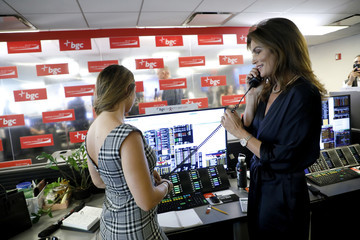 Cindy Crawford Annual Charity Day Hosted By Cantor Fitzgerald, BGC, And GFI - BGC Office – Inside