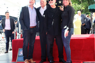 Cindy Holland Ryan Murphy Honored With Star On The Hollywood Walk Of Fame