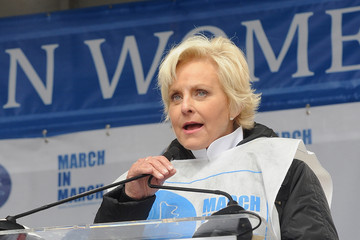 Cindy McCain 'March in March' to End Violence Against Women Event
