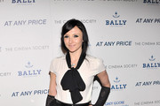 "Alice and Olivia designer Stacey Bendet attends the Cinema Society & Bally screening of Sony Pictures Classics' ""At Any Price"" at Landmark Sunshine Cinema on April 18, 2013 in New York City."