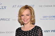 "Emily Bergl attends the Cinema Society & Bally screening of Sony Pictures Classics' ""At Any Price"" at Landmark Sunshine Cinema on April 18, 2013 in New York City."