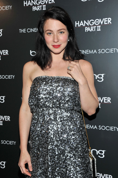"Actress Lynn Collins attends the Cinema Society & Bing screening of ""The Hangover Part II"" at Landmark Sunshine Cinema on May 23, 2011 in New York City."