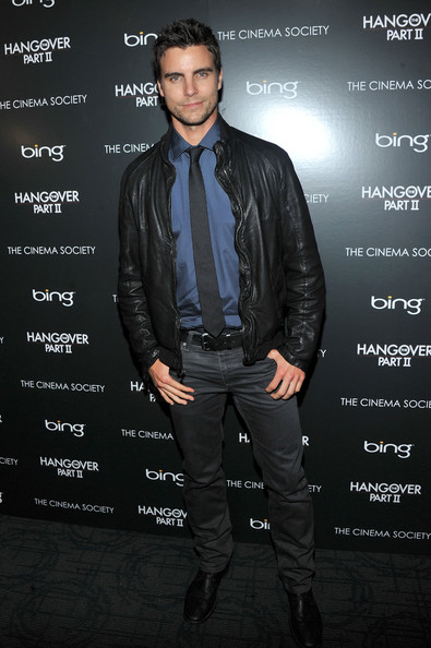 "Actor Colin Egglesfield attends the Cinema Society & Bing screening of ""The Hangover Part II"" at Landmark Sunshine Cinema on May 23, 2011 in New York City."