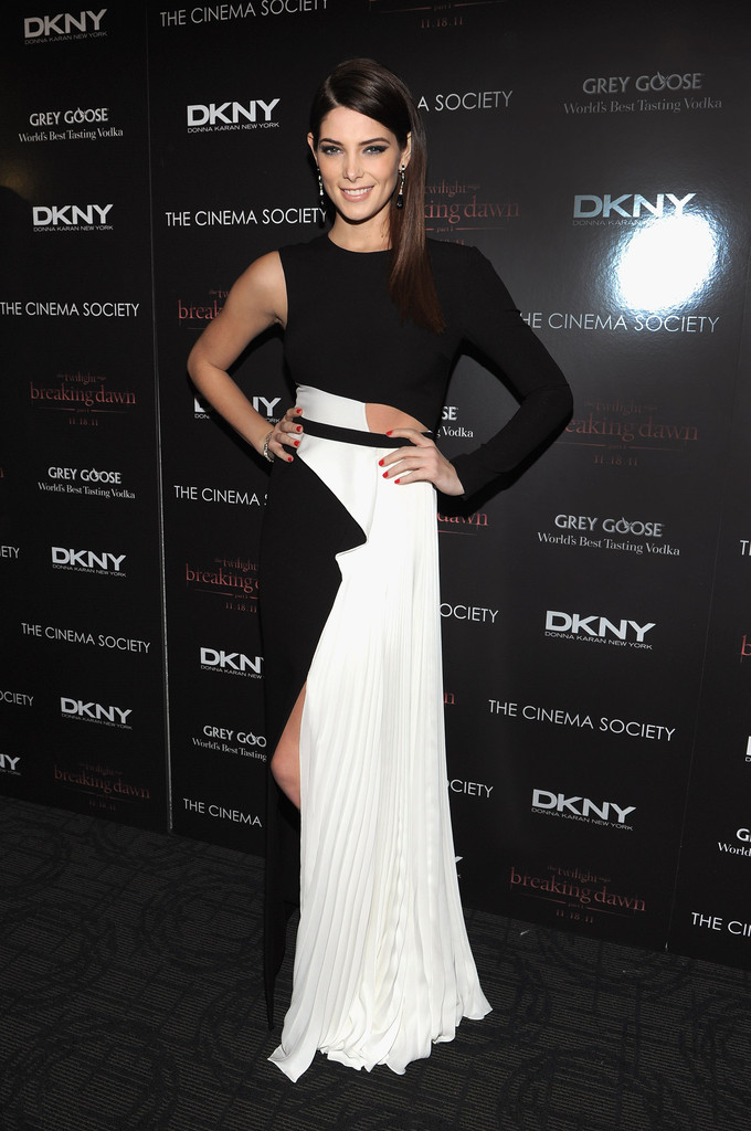 Ashley+Greene in The Cinema Society & DKNY Host A Screening Of