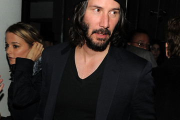 """Keanu Reeves The Cinema Society With DeLeon Tequila And Moving Pictures Film & Television Host A Screening Of """"Henry's Crime"""" - After Party"""