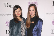 "Actress Victoria Justice and Madison Guest attend The Cinema Society And Dior Beauty Presents A Screening Of ""Beautiful Creatures"" at Tribeca Cinemas on February 11, 2013 in New York City."