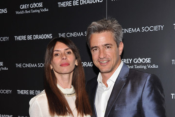 """Dermot Mulroney Tharita Catulle The Cinema Society & Grey Goose Host A Screening Of """"There Be Dragons"""" - Arrivals"""