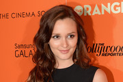 Actress Leighton Meester attends The Cinema Society with The Hollywood Reporter & Samsung Galaxy S III host a screening of