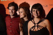 (L-R) Actors Adam Brody, Leighton Meester and Alia Shawkat attend The Cinema Society with The Hollywood Reporter & Samsung Galaxy S III host a screening of